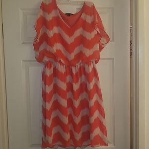 Salmon color dress